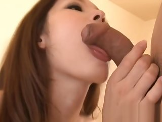 Beautyfull asian doll gets cum facial part3