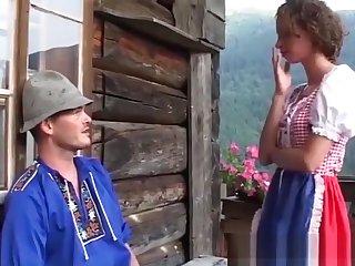 german teen brutal banged at the mountains