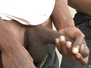 Redhead mature whore Kierra Wilde gets fucked by two black guys