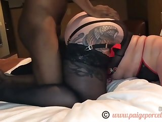 SUPERSIZED BIG BEAUTIFUL WOMAN + BIG BLACK PRICK= good time - amateur porn copulation