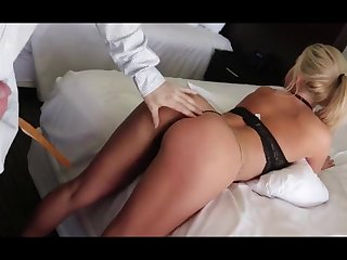 PERFECT REAR END BLOND HAIR BABE YOUNG GIRL FUCKS SUGAR DADDY FOR RENT - low quality