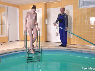 memorable fuck by the pool is a paradise for horny girl Ilona C