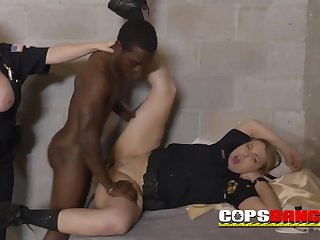 Naughty black pimp with huge pecker