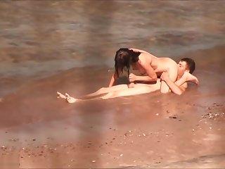 Beach Voyeur Films Hard Couple Sex