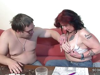 German Mother Helps Her Ugly Step-Son with First Nail
