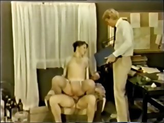 Danish MMF Bisexual porn from the 1970's