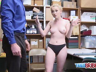 FRUITY blond hair lady petite humped VERY hard