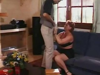 Spying on His Stepdaughter Caught by Mother