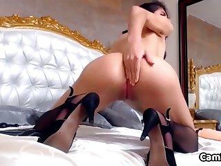 Cute Tiny Latina Destroying That Ass