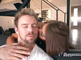 Madison Ivy is gonna fuck thick-dicker Erik Everhard