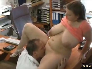 Big boobs milf fucked at the office by her boss