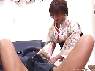 Asian housewife gets fingered then screwed in an enticing close up shoot