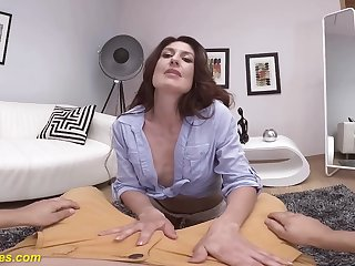 stepmom pov on my big dick