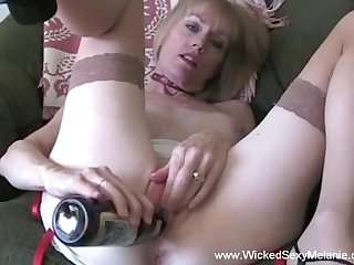 hot amateur granny and swinger housewife named Wicked Sexy Melanie.