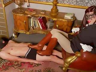 Boot Trampling Licking And Stomping