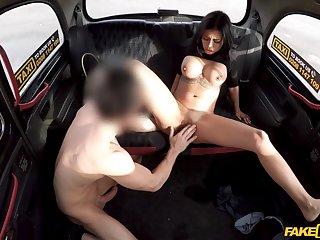 Fake Taxi - Bubble Butt Latina Bouncy Fuck 1 - Canela Skin